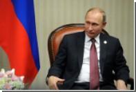 Перуанка попыталась подарить Путину свитер