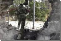 Сирийскую армию обстреляли снарядами с отравляющим газом