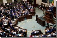 Бельгийский парламент обсудит отмену антироссийских санкций