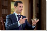 Асад заявил о намерении оставаться президентом Сирии до 2021 года