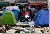 В Париже началась зачистка лагеря беженцев