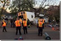 В ДТП со школьным автобусом в США погибли шесть детей