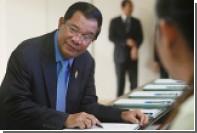 Трамп заручился поддержкой камбоджийского премьера