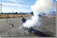 Взрыв унитаза после помещения в него натрия показали на видео