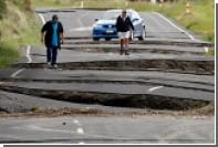 Землетрясение разломало Новую Зеландию