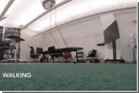 Наполненного газом робота показали на видео