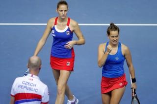 Теннисистки из Чехии в третий раз подряд выиграли Кубок Федерации