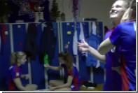 Российские гандболистки замерли в душевой в рамках Mannequin Challenge