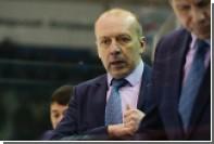 Тренер клуба КХЛ дал пресс-конференцию за 6 секунд