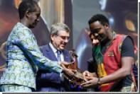 МОК вручил награду «Женщины и спорт» мужчине