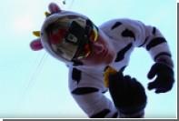 Белорусский роупджампер попал драником в сметану с 25-метровой высоты