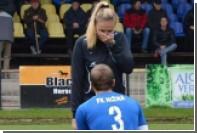 Словацкий футболист сделал предложение судье перед началом матча