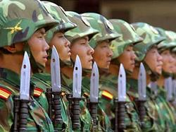 Расходы Китая на оборону в 2005 году составили 6% аналогичных расходов США