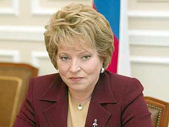 Матвиенко направила Путину заявление о досрочном сложении полномочий