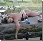 Молодая мать утопила ребенка в блевоте