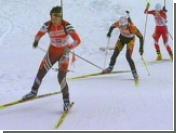 Российские биатлонистки не преуспели в гонке на 15 км в Хохфильцене