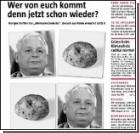 Польского президента сравнили с картошкой
