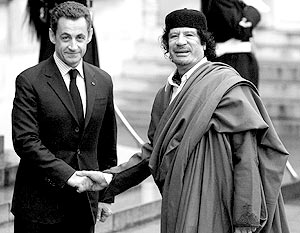 Саркози вооружит Каддафи