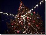 В центре Бендер установлена полувековая новогодняя ель