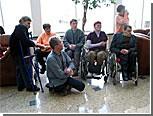 """Дубоссарские инвалиды получили помощь от местных властей и партии """"Обновление"""""""