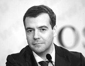 Медведев подвел итоги