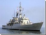 В грузинский порт Поти вернулся американский фрегат