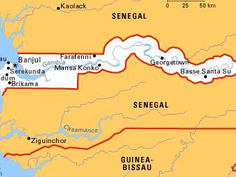 Британские миссионеры признались в подстрекательстве к мятежу в Гамбии