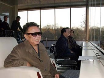 Ким Чен Ир появился на концерте