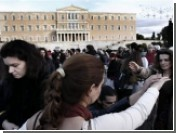 Демонстранты закрыли магазины в центре Афин