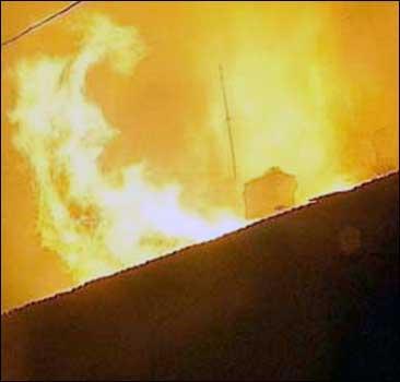 С горящего парома  эвакуированы 39 человек