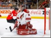 Российский вратарь пропустил семь шайб в матче НХЛ