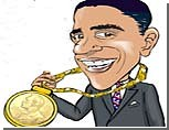 """Жители США: Обама не заслужил """"нобелевку"""""""