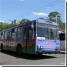 Неизвестные срезали 245 метров троллейбусного провода