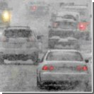 На Запорожье в снежном плену оказались 100 автомобилей
