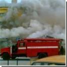Огромный пожар уничтожил жилой дом в центре Москвы