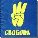 В Крыму людей Тягнибока забросали яйцами