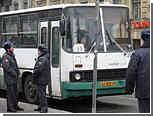 В Москве неизвестные обстреляли рейсовый автобус