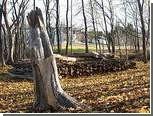 Канадский лесоруб принял произведение искусства за дрова