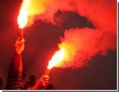 В избирком Петербурга прорвался анархист с файером