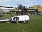В Бразилии разбился вертолет с Папа Ноэлем