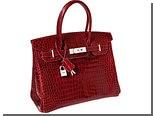 Красная сумка Birkin ушла с молотка за 200 тысяч долларов
