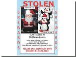 Похищенного надувного Санта-Клауса вернули с доплатой