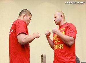 Федор Емельяненко оказался тяжелее японского бойца Ишии на 8,6 кг