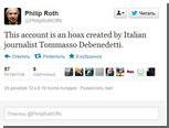 Серийный автор розыгрышей выдумал твиттер Филипа Рота