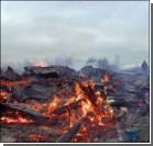 В Беларуси власти сожгли целую деревню. Видео