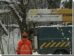 Тысячи домов остались без света из-за снегопада в Канаде
