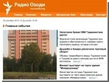 "Таджикистан разблокировал сайт ""Радио Свобода"""