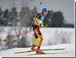 Российские биатлонисты остались без медалей в первом масс-старте сезона
