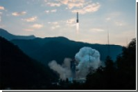 Российский спутник сгорел над Атлантикой