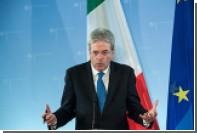 МИД Италии опроверг слухи о блокировке антироссийских санкций